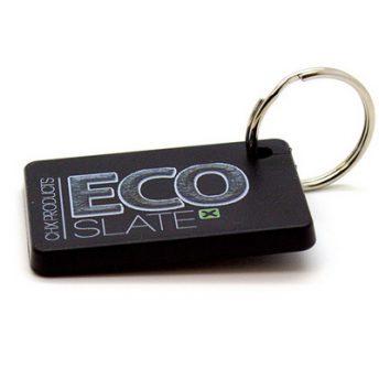 Eco Slate Key Ring